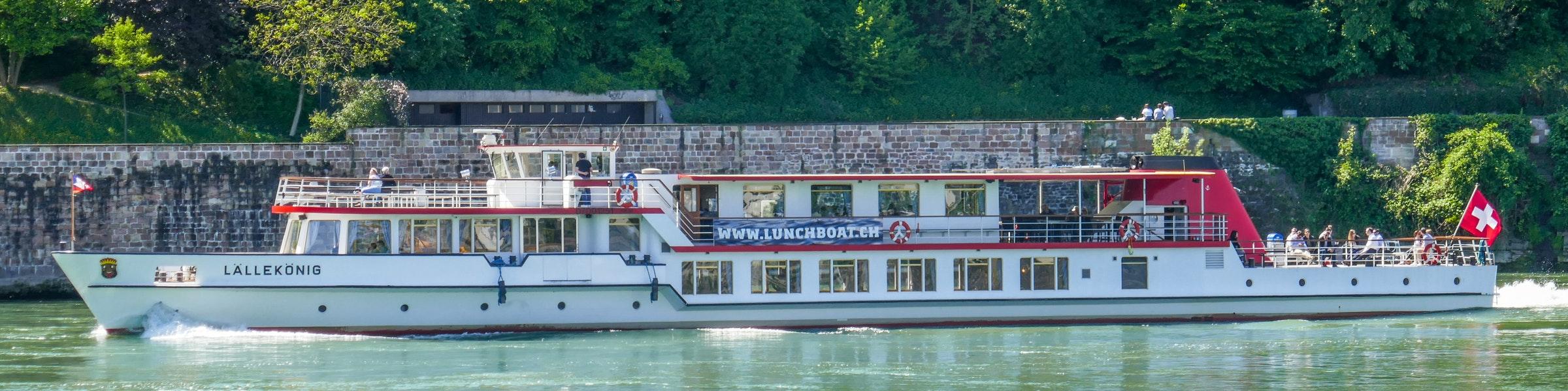 Boat river Rhine
