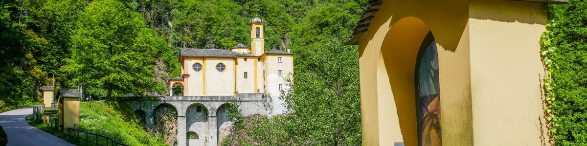 Madonna del Sacro Monte in Brissago
