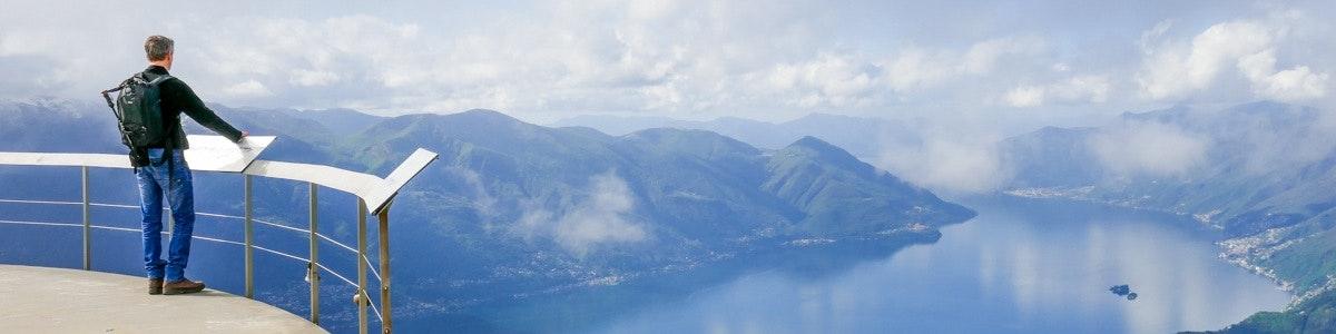 View from Cimetta