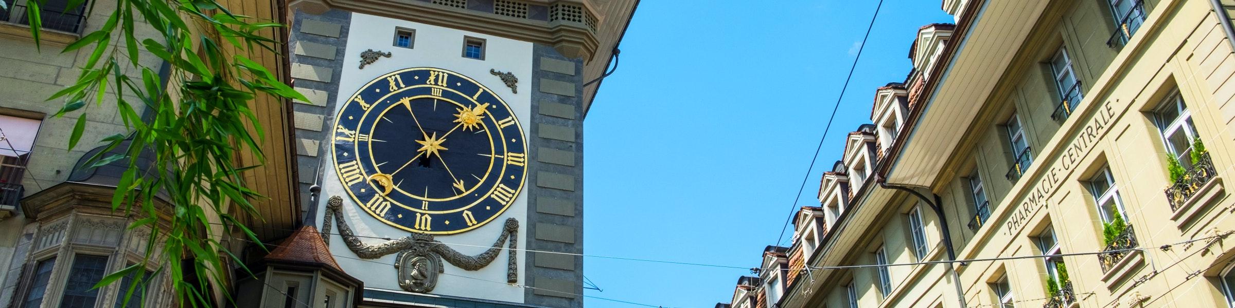 Clock tower Zytglogge Bern