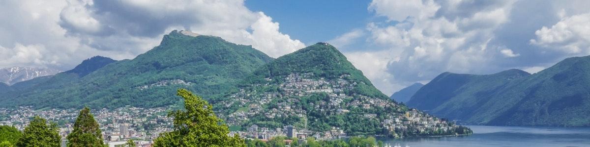 Lugano and Monte Brè