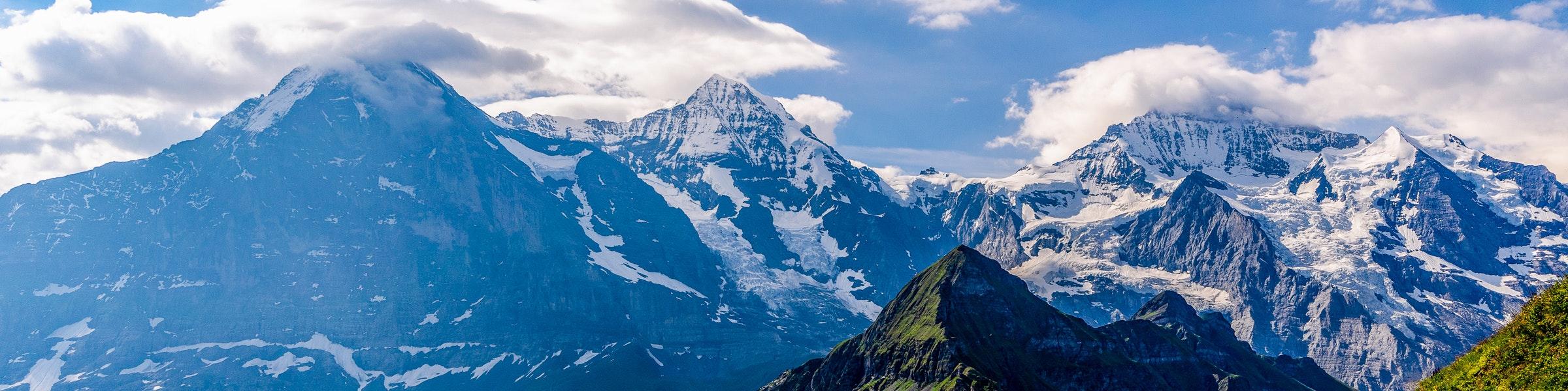 Eiger Mönch Jungfrau from Männlichen