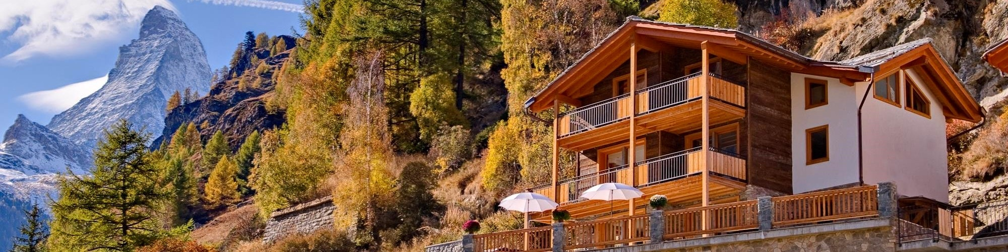 Holiday apartments in Zermatt