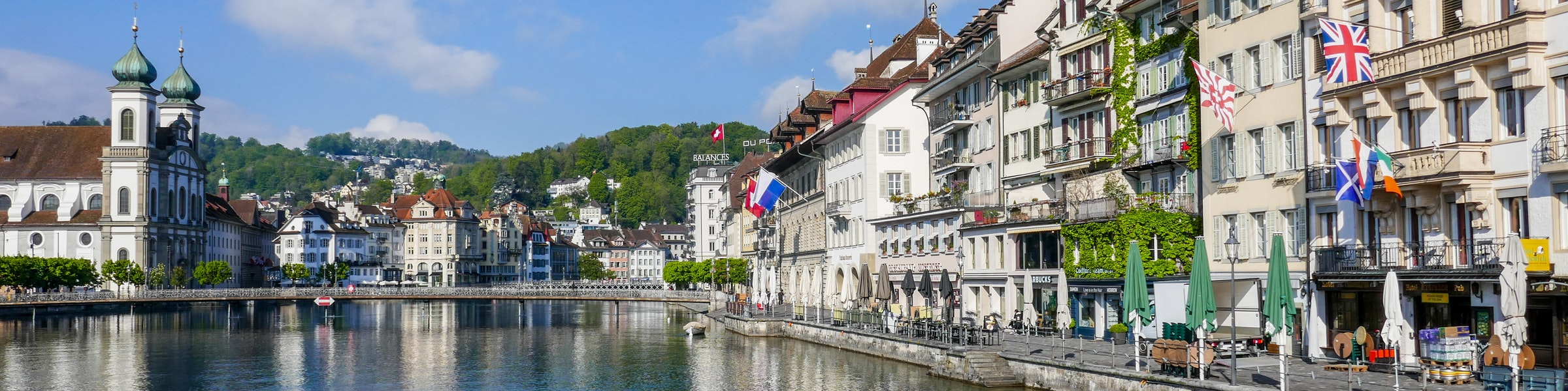 Hotels in Luzern on river Reuss