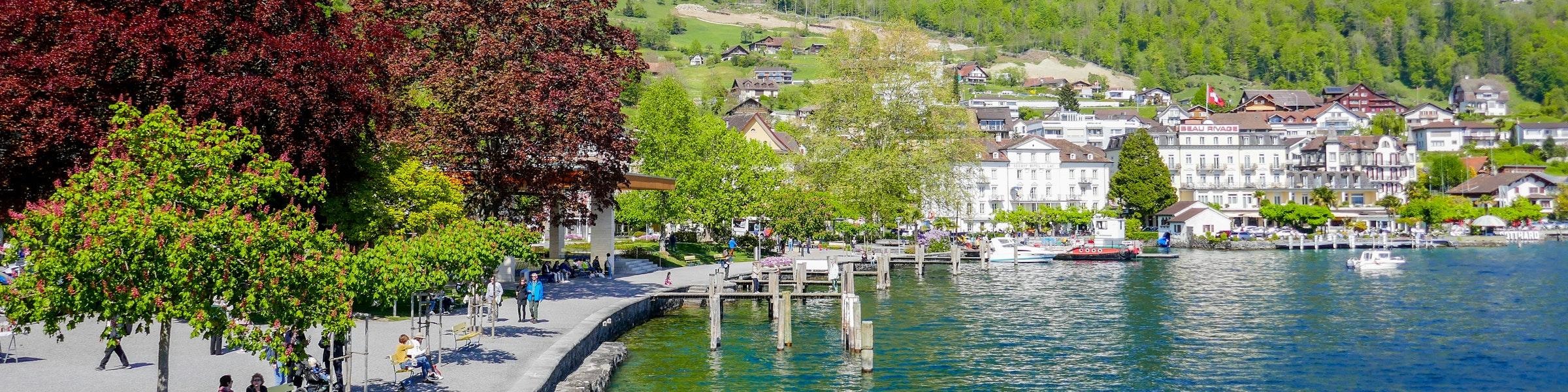 Weggis lakefront