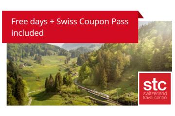Swiss Travel Pass Flex - Gratis-Reisetage inklusive