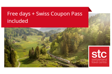 Swiss Travel Pass Flex free extra days